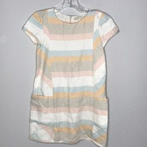 Zara Girls Soft Collection Dress 100% Cotton 9/10